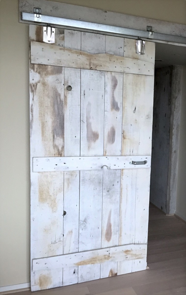Installation available. & Reclaimed Wood Barn Doors | Baltimore MD | Sandtown Millworks