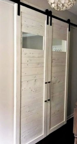 white barn door reclaimed wood barn doors baltimore md sandtown millworks 13144